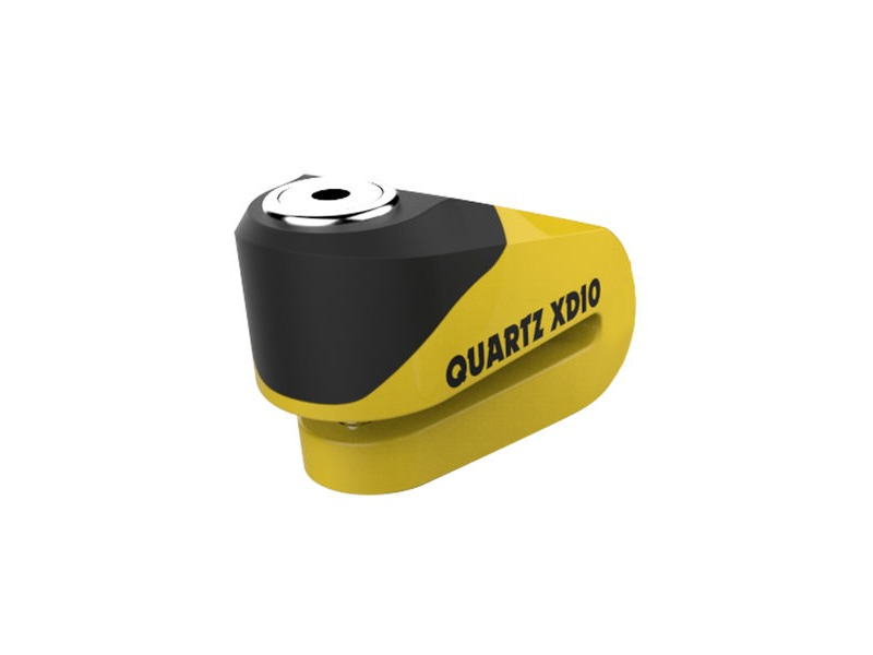 OXFORD Quartz XD10 disc lock(10mm pin)Yellow/Black click to zoom image