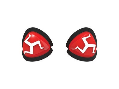OXFORD Manx Knee Sliders Red