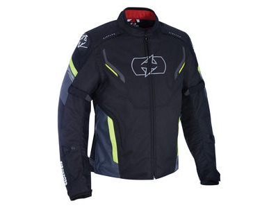 OXFORD Melbourne 3.0 MS Short Jacket Black/Fluo