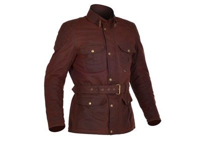 OXFORD Mens Bradwell Jacket Oxblood