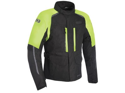OXFORD Continental MS JKT Blk/Fluo