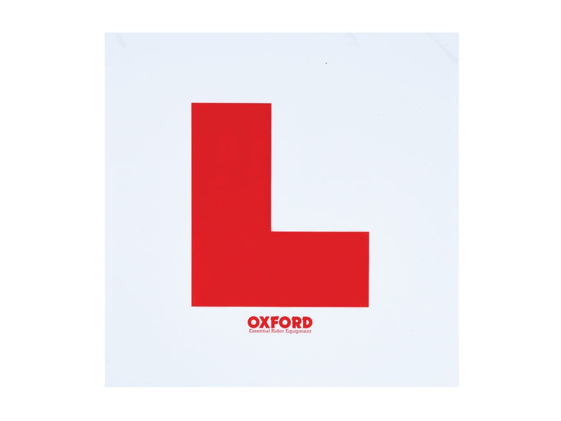 OXFORD Oxford L Plate Kit click to zoom image