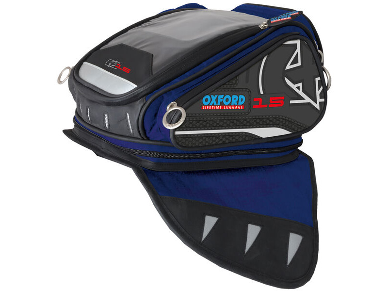 OXFORD 2014 LUGGAGE X15 TANK BAG BLUE click to zoom image