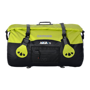 OXFORD AQUA T-70 ROLL BAG - BLACK/FLUO