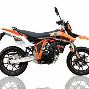 SINNIS Apache SMR EFI 125  Orange  click to zoom image