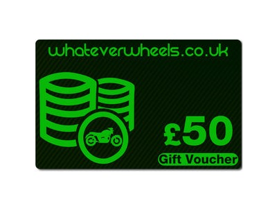 WHATEVERWHEELS £50 Gift Voucher