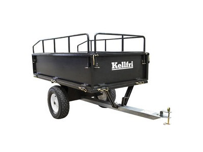 KELLFRI Garden Trailor With Tow Bar