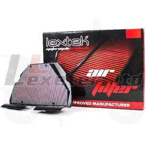LEXTEK Air Filter for HFA1619, Honda 17210-MBW-D20, Honda 17210-MBW-D21