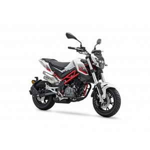 BENELLI TNT 125cc  White/Red  click to zoom image