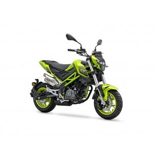 BENELLI TNT 125cc  SuperFast Green  click to zoom image