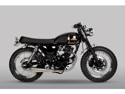 MUTT MOTORCYCLES New Imperial Tracker 125