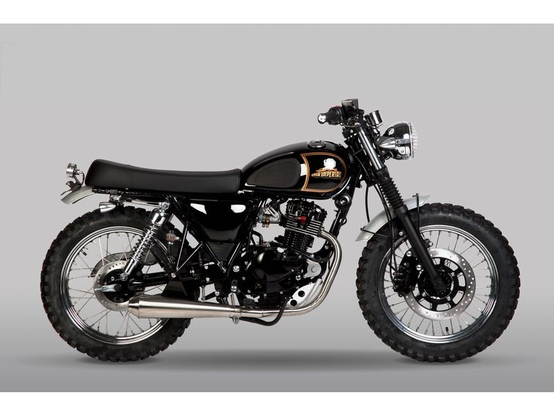 MUTT MOTORCYCLES New Imperial Tracker 125 click to zoom image