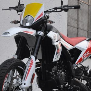 F.B. MONDIAL SMX 125 Motard click to zoom image