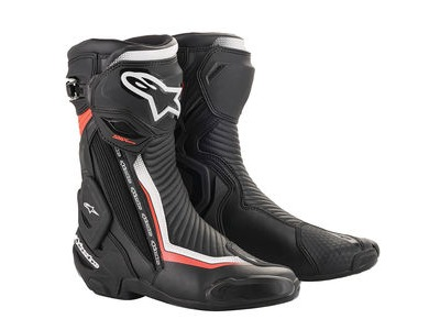 ALPINESTARS Smx Plus V2 Boots Blk/W/R/Fluo