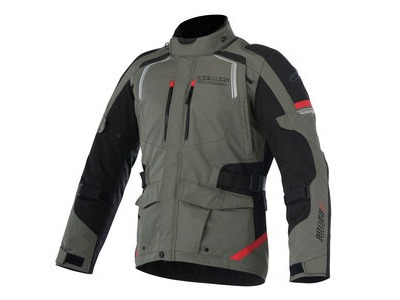 ALPINESTARS Andes V2 Drystar Jacket Military Green Black Red