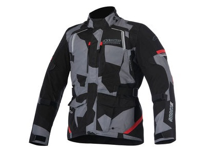 ALPINESTARS Andes V2 Drystar Jacket Black Camo Red