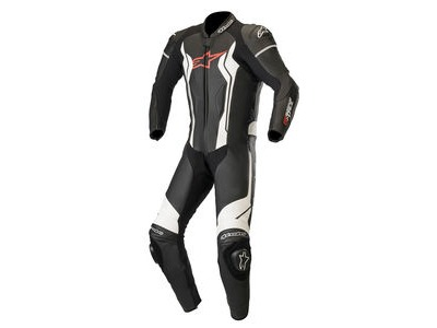 ALPINESTARS Gp Force Leather Suit 1 Pc Black White