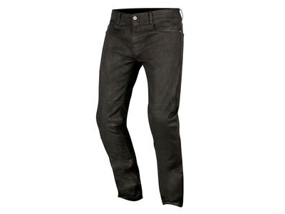 ALPINESTARS Double Bass Denim Pants With Kevlar Greaser Black