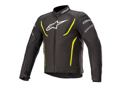 ALPINESTARS T-Jaws V3 WP Jkt Black Yellow Fluo