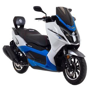 LEXMOTO Chieftain EFI 125  Blue/White  click to zoom image