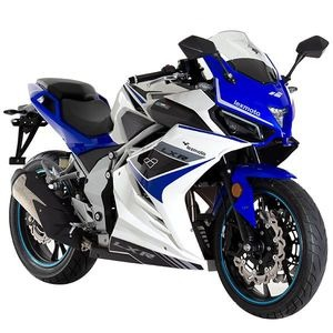 LEXMOTO LXR 125  White / Blue  click to zoom image