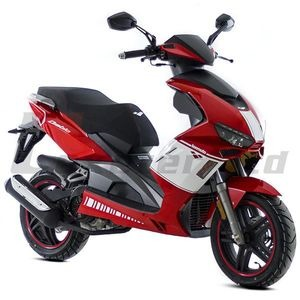 LEXMOTO Diablo EFI 125  Red  click to zoom image