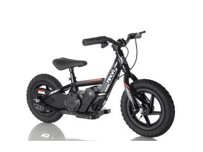"REVVI 12"" Electric Balance Bike - Black"