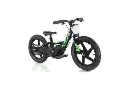 "REVVI 16"" Electric Balance Bike - Green"