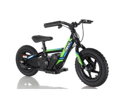 "REVVI 12"" Electric Balance Bike - Green"