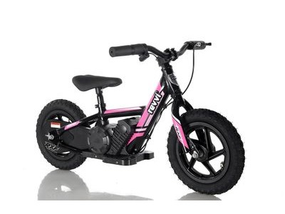 "REVVI 12"" Electric Balance Bike - Pink"