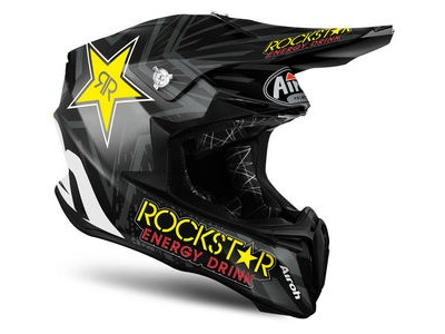 AIROH Twist Peak Rockstar Black Matt