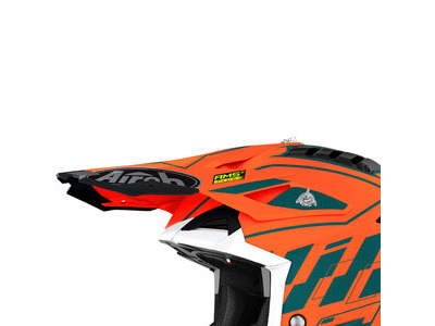 AIROH Aviator 3 Peak Rampage Orange