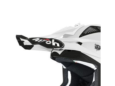 AIROH Aviator Ace Peak White Gloss