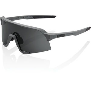 100% S3 - Matt Cool Grey - Smoke Lens