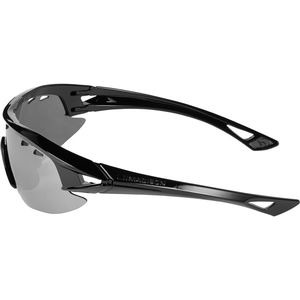 MADISON Recon glasses 3 pack - gloss black frame, silver mirror/amber/clear lens click to zoom image