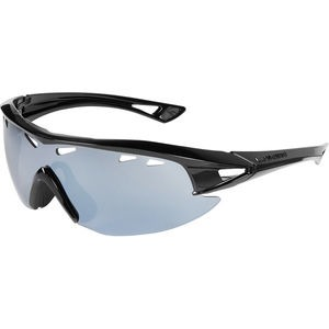MADISON Recon glasses - gloss black frame, silver mirror lens