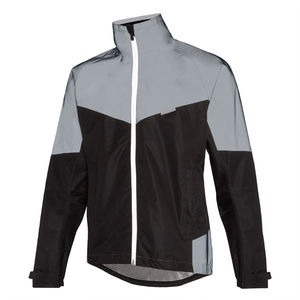 MADISON Stellar Reflective men's waterproof jacket, black / silver
