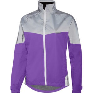 MADISON Stellar Reflective women's waterproof jacket, electric purple/silver