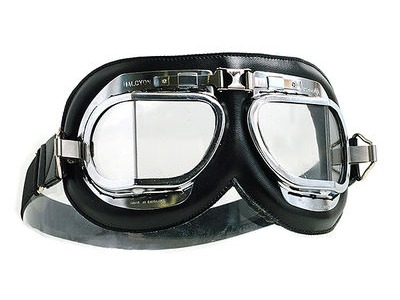 HALCYON Goggles MK4 - Chrome/Black