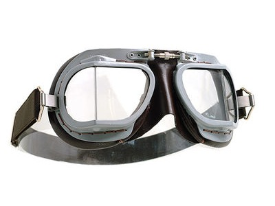 HALCYON Goggles MK9 Vented Grey/Brown