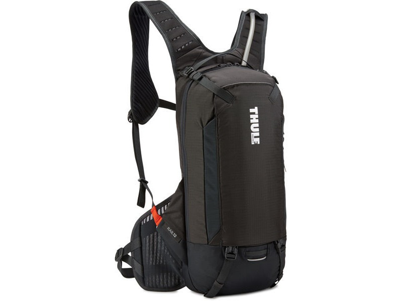 THULE Rail hydration backpack 12 litre cargo, 2.5 litre fluid - black click to zoom image