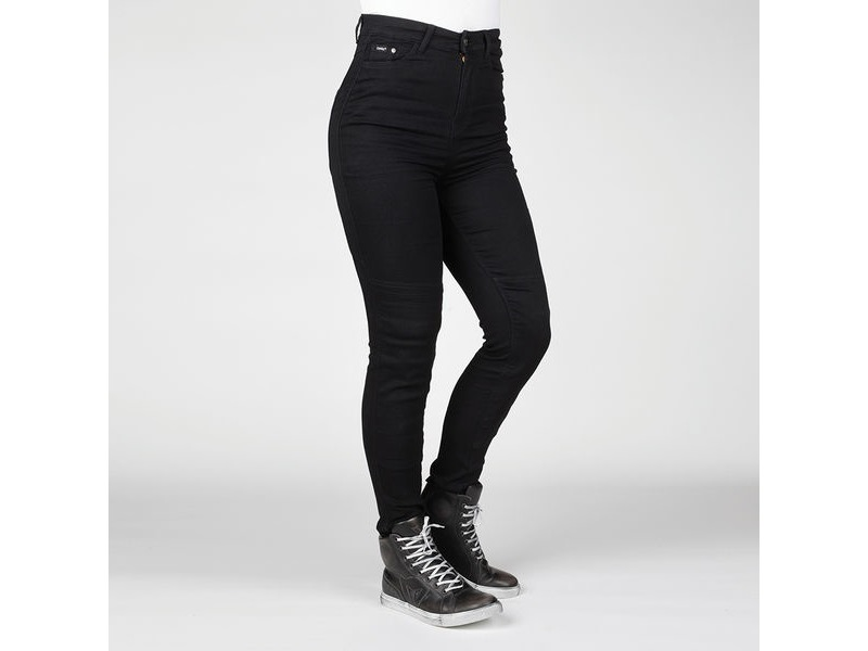 BULL-IT Ladies Fury II SP45 (A) Black Skinny Jegging (Short) click to zoom image