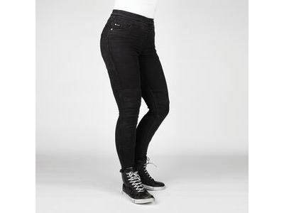 BULL-IT Ladies Fury Evo SP45 (A) Black Skinny Jeggings Short