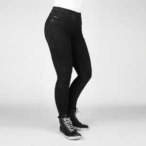 BULL-IT Ladies Fury Evo SP45 (A) Black Skinny Jeggings Reg