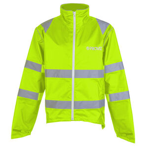 PROVIZ Nightrider Waterproof Jacket Yellow