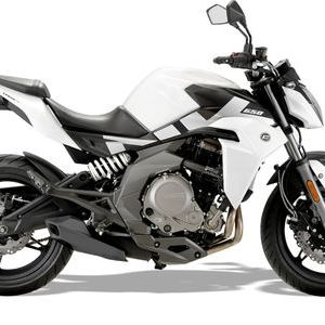 CFMOTO 650NK ABS  White  click to zoom image