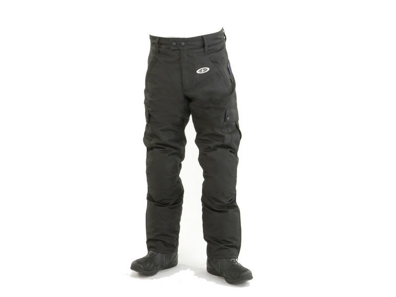 RAYVEN Kargo Trousers - Black click to zoom image