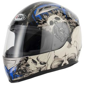 V-CAN V158 Demon Helmet - Blue