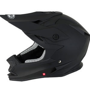 V-CAN V321 MX Helmet - Matt Black