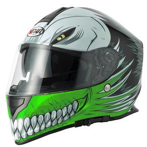 V-CAN V127 Helmet - Hollow Green